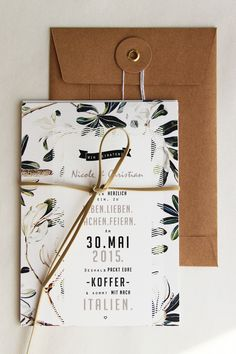 Wedding Invitation on Behance