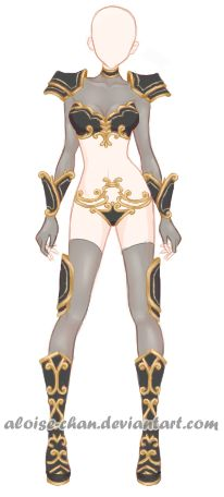 [OPEN] Dragon Armour Adoptable by Aloise-chan.deviantart.com on @DeviantArt