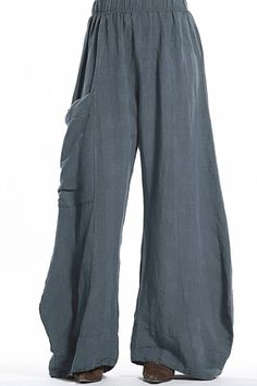 Striped Linen Klee Pant Unprinted-Was 168 Now