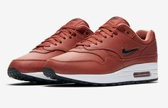 best service 9aaa4 bb876 The Nike Air Max 1 Jewel Dusty Peach is featured in its official images and  it s dropping on August