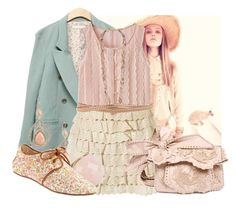 """""""=)"""" by hopelovesfashion ❤ liked on Polyvore featuring FRIDA, Forever 21, B-Low the Belt, 80%20 and Valentino"""