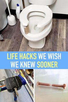 These are some genius life hacks that will turn everyday struggles into no struggle at all. Some will even have you asking, why didn't I think of that? Household Cleaning Tips, House Cleaning Tips, Diy Cleaning Products, Cleaning Solutions, Cleaning Hacks, Simple Life Hacks, Useful Life Hacks, Awesome Life Hacks, Lifehacks