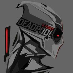 @Regrann from @bosslogic - A 'X-Force Gon' Give It To Ya' Version of Deadpool @vancityreynolds @deadpoolmovie #popheadshots #Regrann