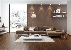 Entzuckend Wohnzimmer Weiß Und Braun