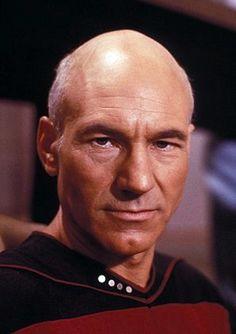 Captain Jean-Luc Picard. A bit stiff, but a badass leader.