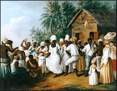 "Birth of the ""Bonba"" Afro-boricua dance heritage. (Agostino Brunias Handkerchief Dance England (c. Oil on Canvas, x 68 cm. The Image of the Black in Western Art Research Project and Photo Archive, W. Du Bois Institute for African and. Black History Facts, Art History, Haiti, African Traditions, Renaissance Artists, Mystery Of History, Visual Diary, African History, African Art"