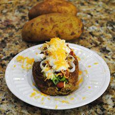 Baked-Potato-Pile-Up Recipe - RecipeChart.com #Delicious #SideDish #Tasty