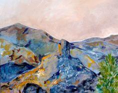 obra Mirazo - serie naturaleza compartida oleo