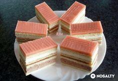 Holland szelet | NOSALTY Hungarian Desserts, Hungarian Cake, Hungarian Recipes, Hungarian Food, Dutch Recipes, Sweet Recipes, Cake Recipes, Dessert Recipes, Cake Bars