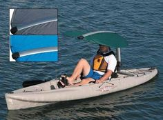 Hobie Kayaks Sun Shade--maybe something like this for the purple sit on top?