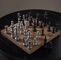 Giant Vintage Chess Set