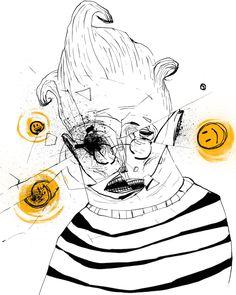 İzmir Tutkulu İlüstratörün Uluslararası Takdir Gören Çizimleri   Kaan Bağcı 1986 Manisa doğumlu bir ilüstratör.