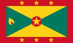 Free Grenada flag graphics, vectors, and printable PDF files. Get the free downloads at http://flaglane.com/download/grenadian-flag/