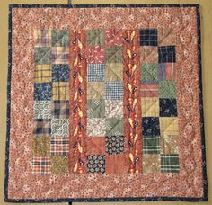 HomeSpunPrims: SOME OF MY FALL QUILTS....