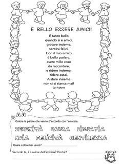 Welcome To School, Letter Matching, Service Learning, Italian Language, Learning Italian, Yoga For Kids, Summer School, Primary School, Nursery Rhymes