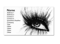 Makeup Artist Business Card Samples - StartupGuys.net