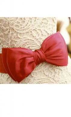 Bowknot Elastic Belts available in navy, red, black, white and yellow