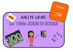 *La fête du 100 ème jour d'école 2016 - ★Meroute en clis★