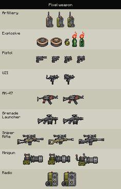 Pixel Weapon on Behance