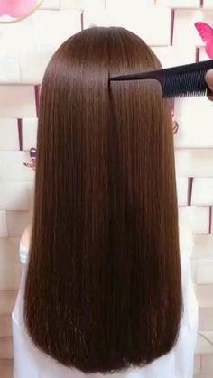Hairdo For Long Hair, Easy Hairstyles For Long Hair, Cute Hairstyles, Braided Hairstyles, Hairstyles Videos, Wedding Hairstyles, Curly Hair, Easy Little Girl Hairstyles, Kawaii Hairstyles