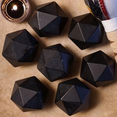 Basalt Icosahedron for creative and emotional breakthrough. Did you know the…