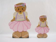 Sweet Summer Gingerbread Fridge Magnet and/or by ByBrendasHand