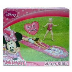 Water Slide - Disney - Minnie Mouse - 14' (14 feet long) Disney http://www.amazon.com/dp/B00BCOCFCO/ref=cm_sw_r_pi_dp_yaLQtb0EGDSP18A2