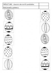 Crafts,Actvities and Worksheets for Preschool,Toddler and Kindergarten.Lots of worksheets and coloring pages. Easter Worksheets, Art Worksheets, Easter Activities, Preschool Worksheets, Easter Arts And Crafts, Kids Crafts, Pattern Worksheet, Free Printable Art, Math For Kids