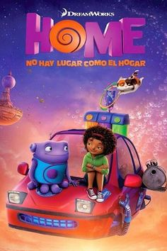 home pelicula Home: No hay lugar - home Dreamworks, Home Movies, Movies Online, Cartoon, Geek, Books, 2016 Movies, Cartoon Wallpaper, Places