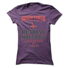 Reading Specialist SUN $id2 v1 T Shirts, Hoodies. Get it here ==► https://www.sunfrog.com/LifeStyle/Reading-Specialist--SUN-id2-v1-Ladies.html?57074 $21