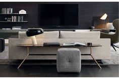 Mondrian Coffee Table by Jean-Marie Massaud for Poliform Mondrian, Deco Furniture, Furniture Sets, Furniture Design, Room Interior Design, Contemporary Interior Design, Modern Design, Sofa Design, Home Trends