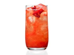 Top Secret Strawberry Lemonade: Food Network Magazine whipped up a perfect imitation of a classic roadside drink, complete with fresh strawberries and bright lemon juice. #RecipeOfTheDay