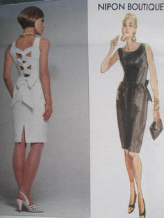 See Sally Sew-Patterns For Less - American Designer Nipon Boutique Dress Fashion Vogue 2672 Pattern Sz. 14 - 16 , $14.00 (http://stores.seesallysew.com/american-designer-nipon-boutique-dress-fashion-vogue-2672-pattern-sz-14-16/)