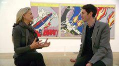 BBC video--Roy Lichtenstein (59 min.) Watch in class: 1-15:00 & 30-45:00 min.
