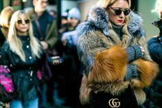 Inspiration from New York Fashion Week for interior design & decorating #NYFW #interiordesign #homedecor (The Best Street Style from New York Fashion Week  - HarpersBAZAAR.com)