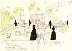 Jaime Hayon sketch