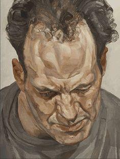 """Juxtapoz Magazine - Lucian Freud """"Portraits"""" @ National Portrait Gallery, London"""