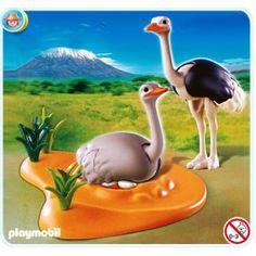 Playmobil 4831 - Ostrich Family w/ Nest