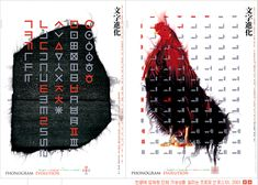 Modern Hangul product designs