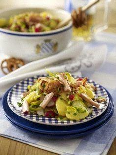 Bayrischer Biergarten-Kartoffelsalat Rezept