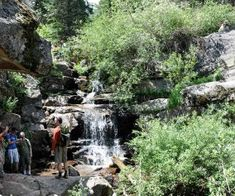 Spend a day hiking in Evergreen, just 45 minutes West of Denver. Enjoy lakes, waterfalls, wildlife and more!