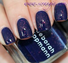 Deborah Lippmann 3D Holographic Nail Lacquer in Ray of Light - Tried on 1 nail