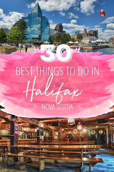 There are so many great things to do in Halifax, Nova Scotia that you're going to want to extend your trip. So here's your key to the city: a definitive guide to Halifax as put together by a Maritimer. East Coast Travel, East Coast Road Trip, Vancouver, Alberta Canada, Quebec, Ottawa, Canada Cruise, Canada Trip, Canada Eh