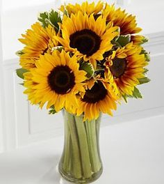 multi color sunflower bouquets - Google Search