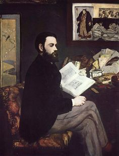 Portrait of Émile Zola is a painting by Édouard Manet. Manet submitted the portrait to the 1868 Salon.
