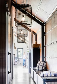 A yearning for a beach retreat on the NSW South Coast turned into a cool shed home – and the owners couldn't be happier. Shed Plans, House Plans, Converted Shed, Cool Sheds, Rue Verte, Decoracion Vintage Chic, Shed Homes, Australian Homes, Australian Sheds