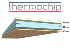 :: PANEL DE SANDWICH :: Precio Panel Sandwich Thermochip. Friso. Painel Sandwich, Sip House, Structural Insulated Panels, Roof Insulation, Sunroom Addition, House Viewing, Roof Detail, Diy Workshop, Building Systems