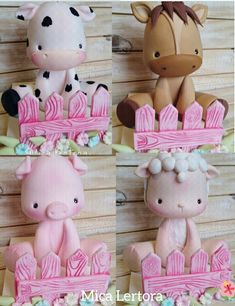 Fondant Animals, Clay Animals, Porcelain Clay, Cold Porcelain, Clay Classes, Farm Cake, Western Parties, Animal Cakes, Modeling Chocolate