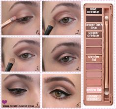 Urban Decay Naked 3 Tutorial! — The Style Lineup