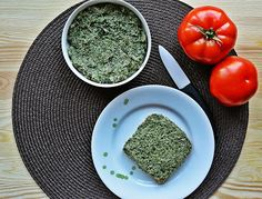 Paste with kale and mushrooms